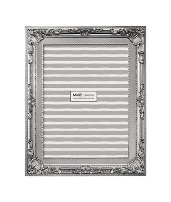 Porta-Retrato Clássico Prata 13x18
