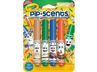Canetinha Perfumada Pip Scents Crayola - Cupcake Sweets