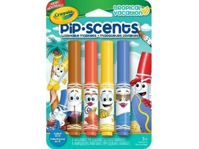 Canetinha Perfumada Pip Scents Crayola - Tropical Vacation