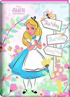 Caderno Brochura Alice no País das Maravilhas