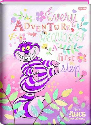 Caderno Brochura Alice no País das Maravilhas- Gato