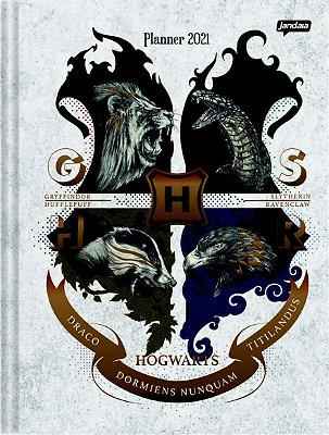 Planner Mensal Casas de Hogwarts