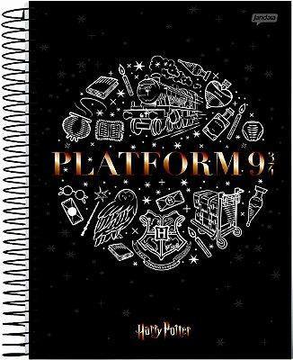 Caderno Espiral Médio 10 Matérias Plataforma 9 ¾