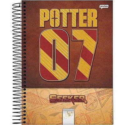 Caderno Espiral Médio 1 Matéria Harry Potter Jogo