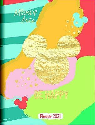 Planner Mensal Brochura Mickey Arts