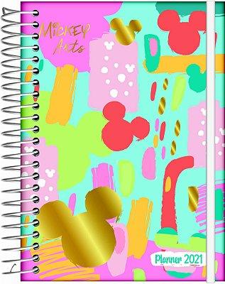 Planner 2021 Mickey Arts Azul