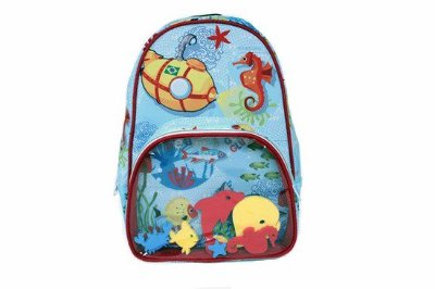 Mochila Kids Fundo do Mar