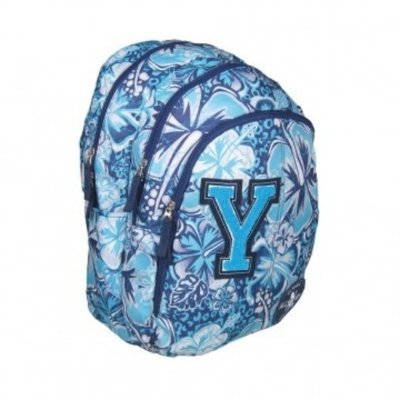 Mochila All-Yes Azul Bordada