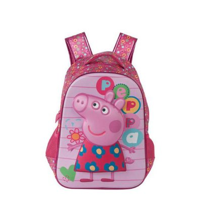 """Mochila 12"""" Peppa Pig"""