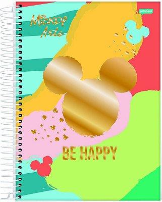 Caderno Espiral 1 Matéria Mickey Arts