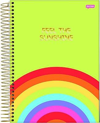 Caderno Espiral 1 Matéria Sunshine