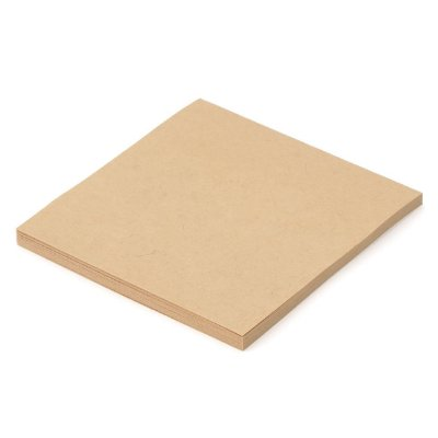 Post it Quadrado Kraft 100 Unidades