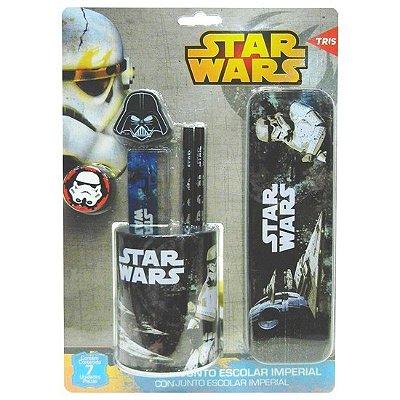 Conjunto Escolar Imperial Star Wars