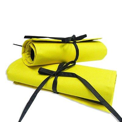 Estojo de Enrolar Amarelo