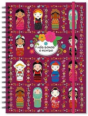Caderno Nós Somos o Mundo - 100 Folhas
