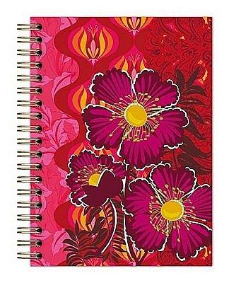 Caderno Botanical Vermelho