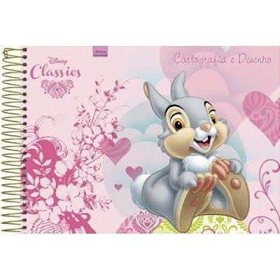 Caderno de Cartografia e Desenho Classicos da Disney