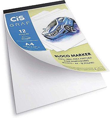 Bloco Marker A4 para Pintura 300g/m²
