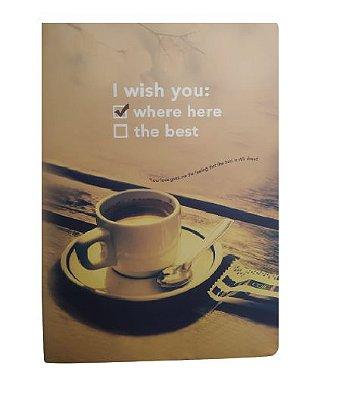 Brochura Pautada Xícara de Café
