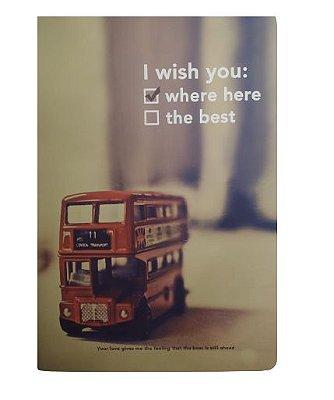 Brochura Pautada Ônibus London