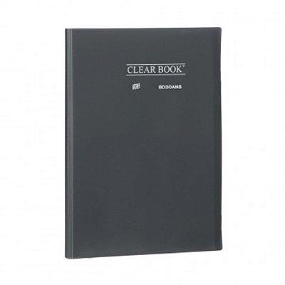 Pasta Catálogo ClearBook 30 folhas A4 Fumê