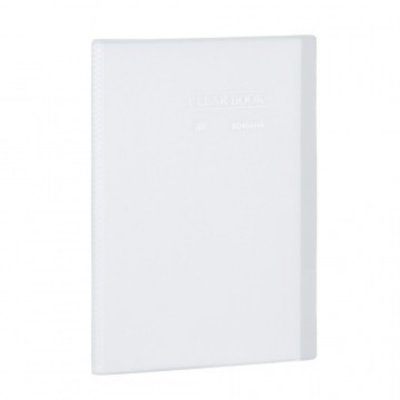 Pasta Catálogo ClearBook 40 folhas A4 Cristal