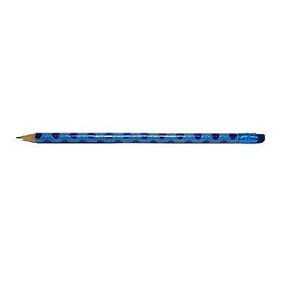 Lápis Collection Glitter Azul
