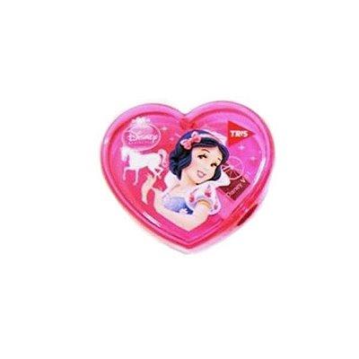 Apontador Coração Princesas Branca de Neve