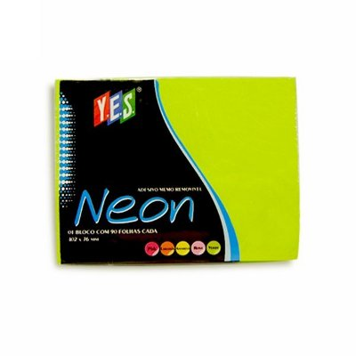 Bloco Adesivo Post It Yes Verde 102x76mm