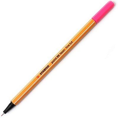 Caneta Stabilo Point 88 - 56 - Neon Pink
