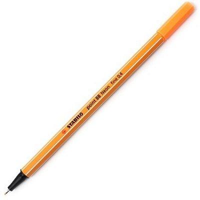 Caneta Stabilo Point 88/54 - Neon Orange