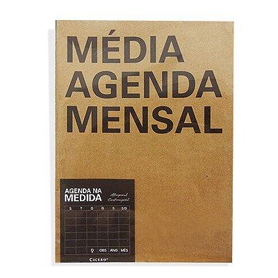 Agenda Mensal Na Medida - Média