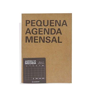 Agenda Mensal Na Medida - Pequena