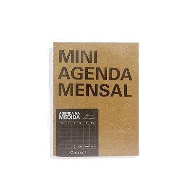 Agenda Mensal Na Medida - Mini