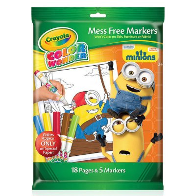 Color Wonder Crayola Minions