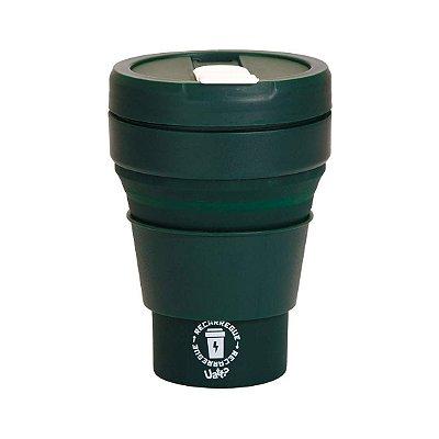 Copo Retrátil Verde 375ml