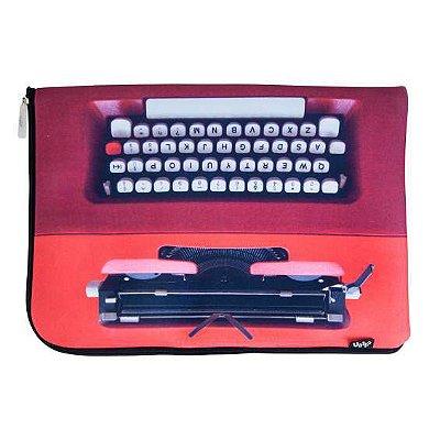 Capa de Notebook Máquina de Escrever