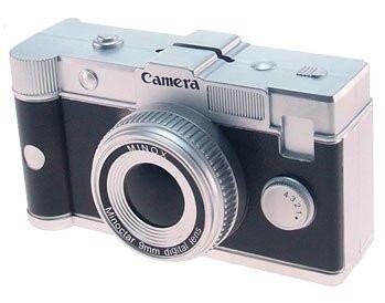Cofre Câmera Preta Minox