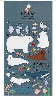 Adesivo Sea Animals