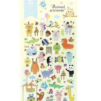 Adesivo Animal Friends