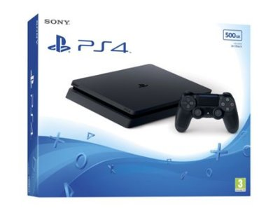 Playstation 4 Slim 2215A 500 Gb c/ 2 Controles
