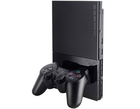 Playstation 2 Slim 2 controles e 5 brindes