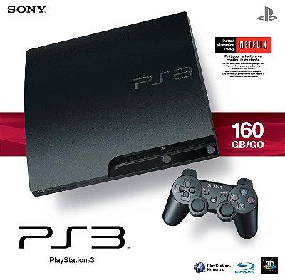Playstation 3 Slim +1 controle