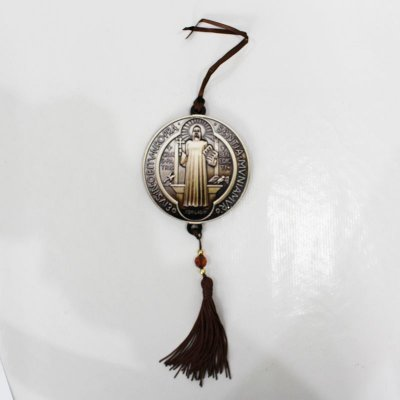 Medalhão Santos - Medalha de São Bento - Pacote com 3 peças - Cód.: 043