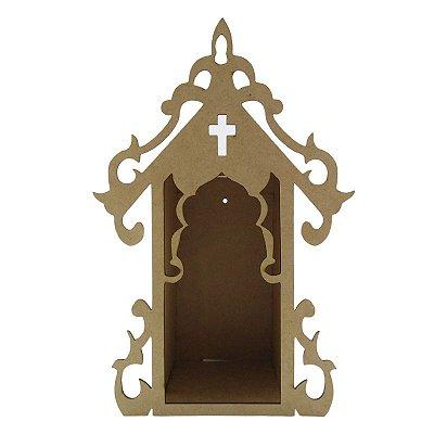 Capela em MDF crú - G - A Peça - Cód.: 2485