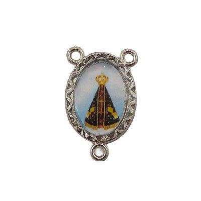 Entremeio de Nossa Senhora Aparecida e São Jorge - A Dúzia - Cód.: 8776