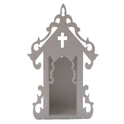 Capela em MDF pintado - PP - A Peça - Cód.: 4149