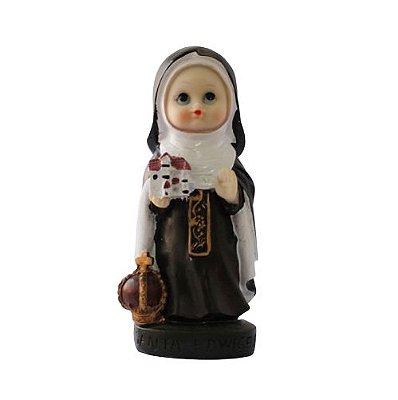 Imagem Santa Edwirges Criança - 14,5 cm - A Unidade - Cód.: 8053