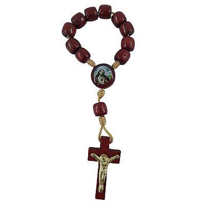 Dezena de Nossa Senhora Aparecida e Sagrado Coração de Jesus - A Dúzia - Cód.: 8686