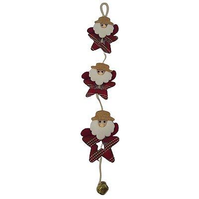 Enfeite de Natal - Estrela com Guizo - A Unidade - Cód.: 3987